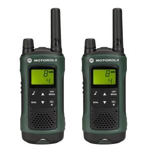 Motorola tlkr t81 Walkie Talkie mit Headset