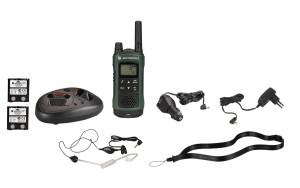 Motorola tlkr t81 Walkie Talkies mit Headset
