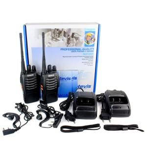 Walkie Talkie mit Headset: Retevis H-777
