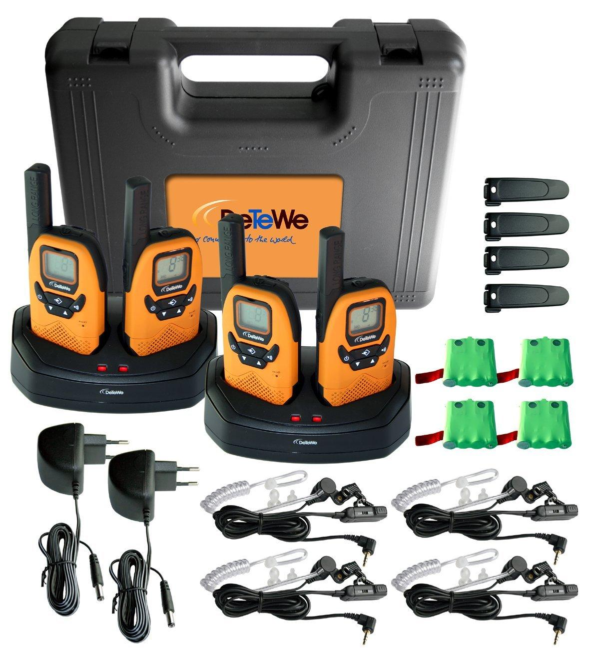 DeTeWe Outdoor 8000 4er Set