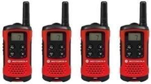 MOTOROLA TLKR T40 4er Set Walkie Talkie