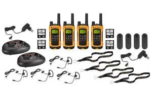 Motorola TLKR 80 Extreme 4er Set